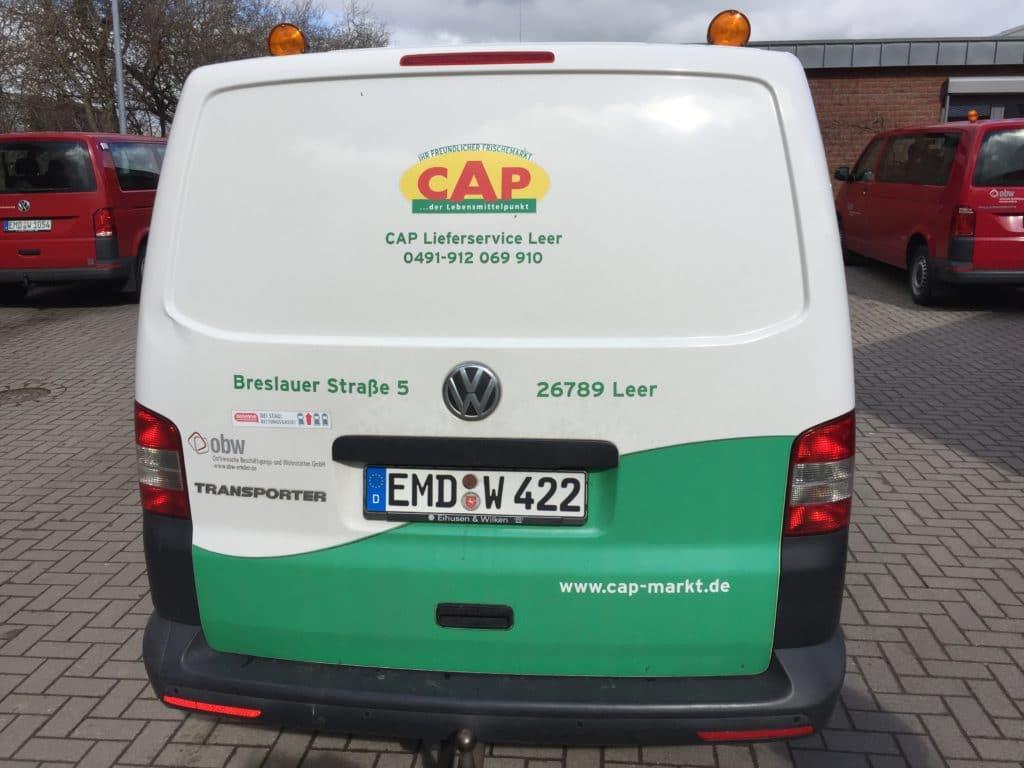 Unser CP-Markt-Lieferwagen